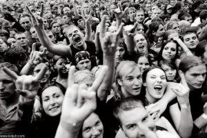 Dmitri Kotjuh. Metallica fans. Riga 20.07.2008.